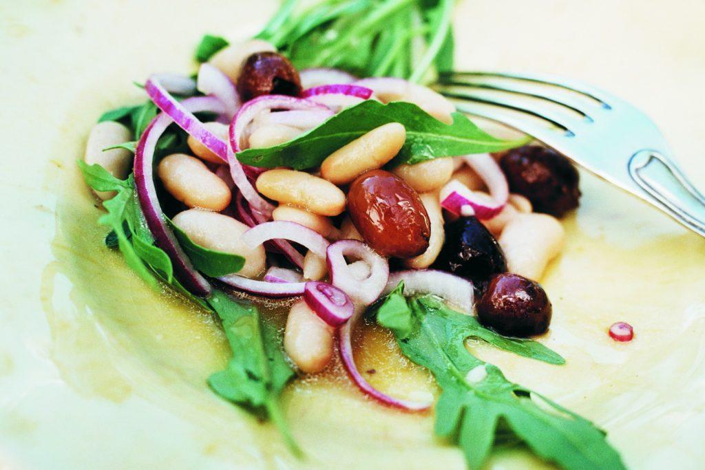 Recept från Zeta: Rucola- och bönsallad med mangobalsamico