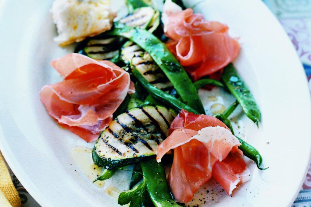Recept från Zeta: Prosciutto med marinerade grönsaker