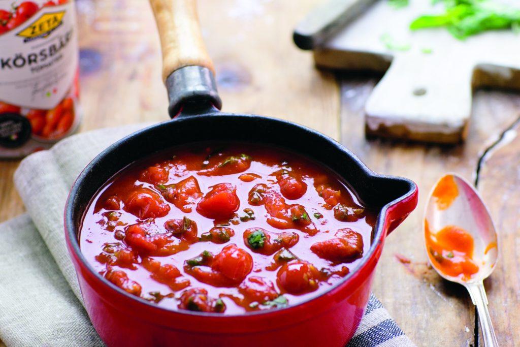 Recept från Zeta: Tomatsås, grundrecept