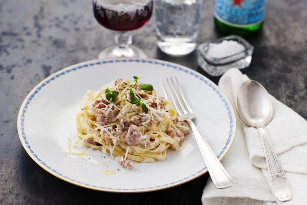 Recept från Zeta. Pasta Mezzanelle med salsicca_li