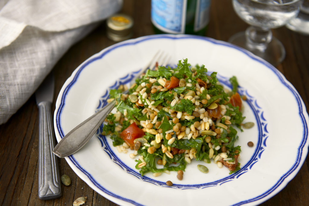 Recept från Zeta. grönkålssallad_femgryn_li