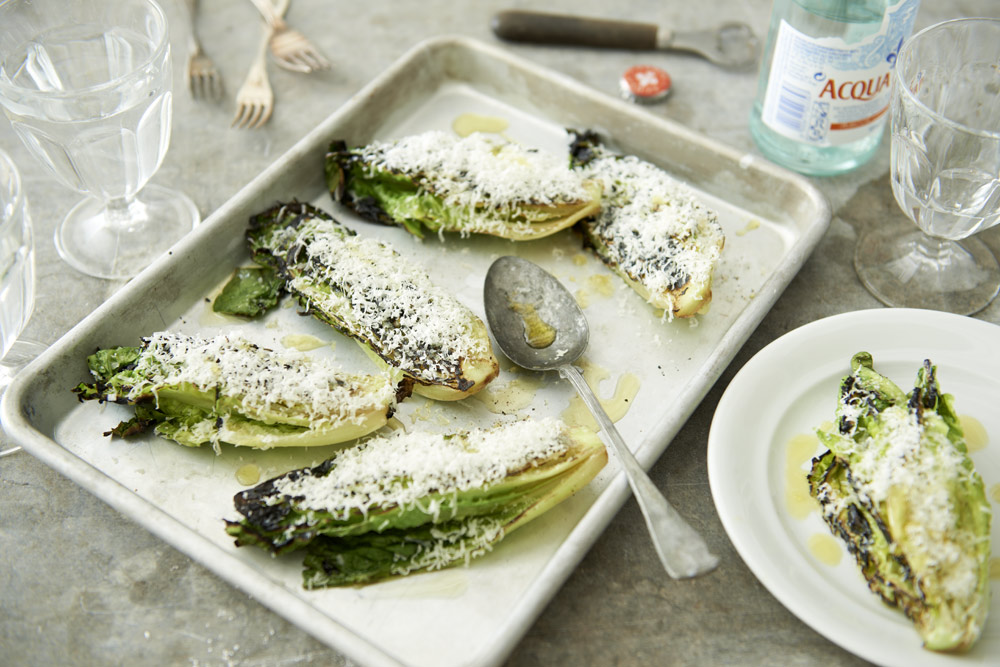 Recept från Zeta. Grillad-gemsallad-med-parmesan