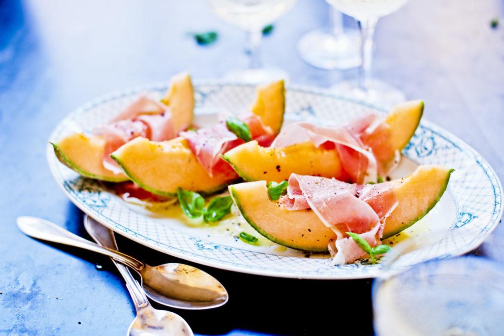 Recept från Zeta. Melon med prosciutto