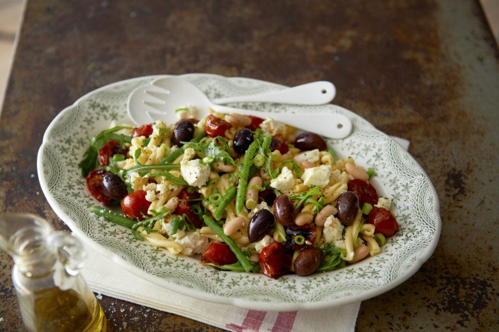Recept från Zeta. Pastasallad_med_balsamicostekta_tomater