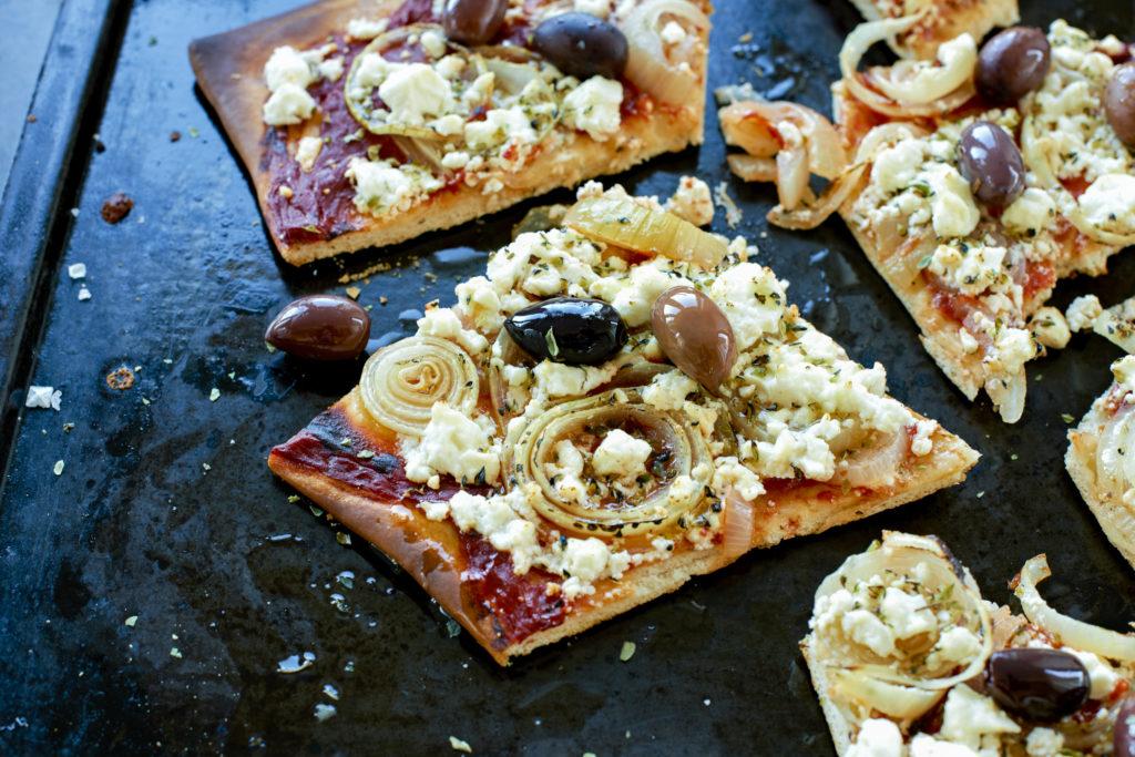 Recept från Zeta. Pizza_med_Getost