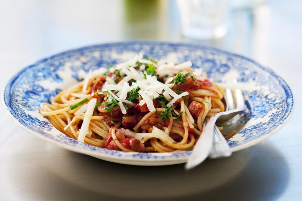 Recept från Zeta. Spaghetti_allAmatriciana