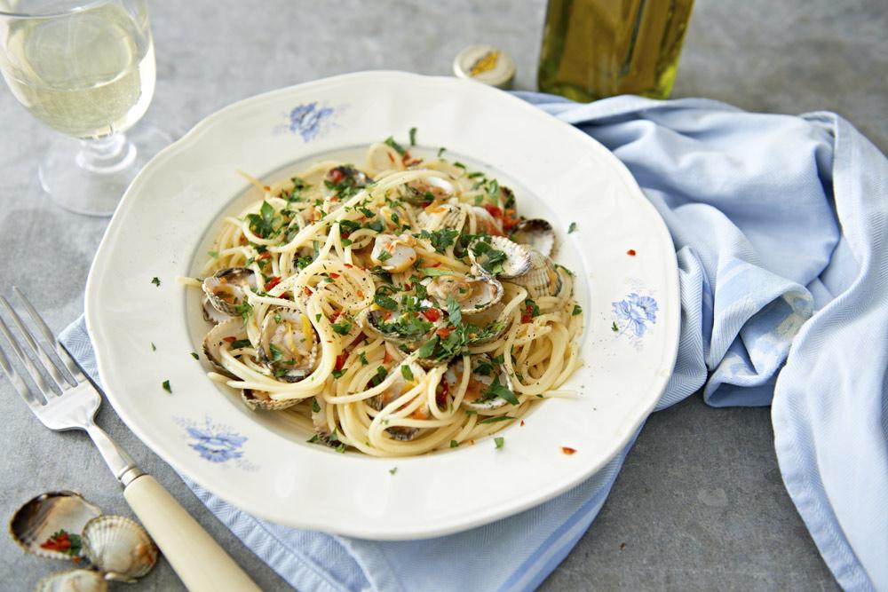 Recept från Zeta. Spaghetti_vongole_li
