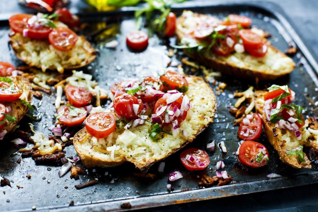 Recept från Zeta. halloumitoast_med_farsk_tomat