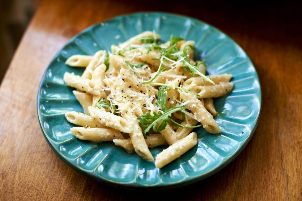 Recept från Zeta. pasta_med_kramig_valnotspesto