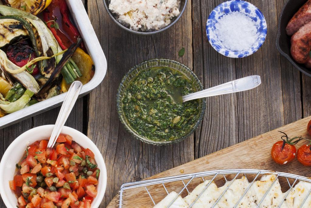 Recept från Zeta. Grön salsa - Salsa verde