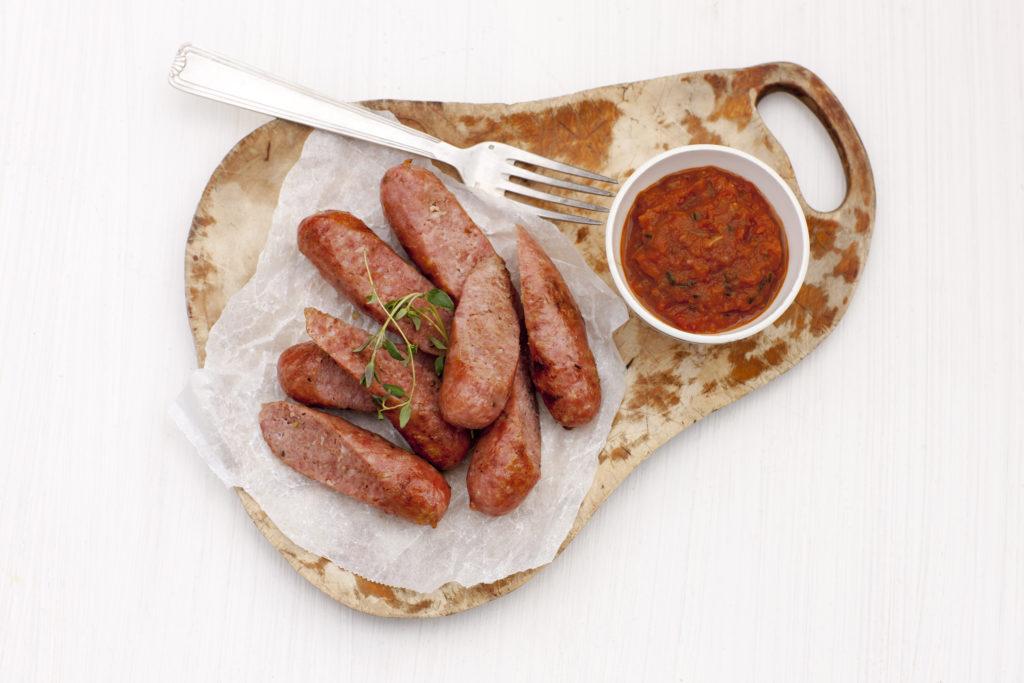 Recept från Zeta. Salsiccia med italiensk ketchup