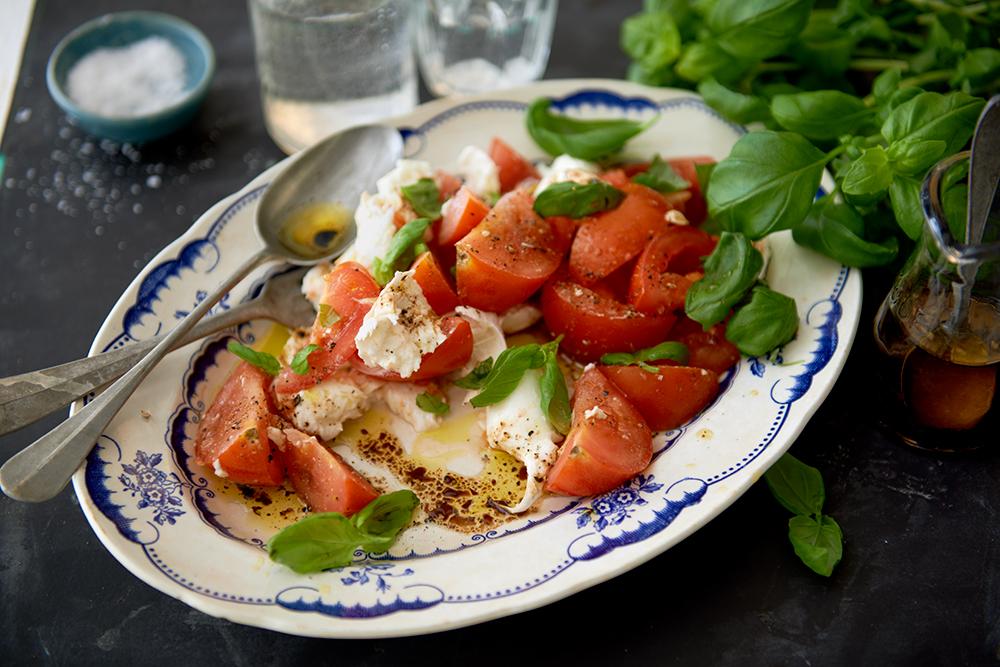 Recept från Zeta: Caprese classico