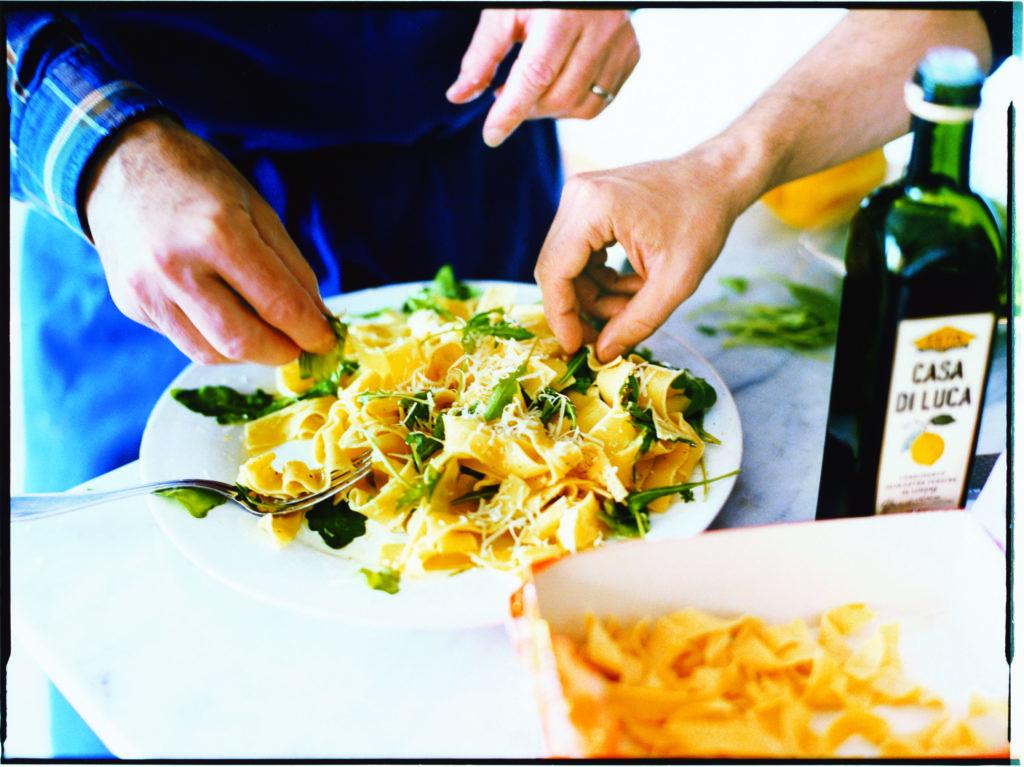 Recept från Zeta: Pappardelle med rucola och citron