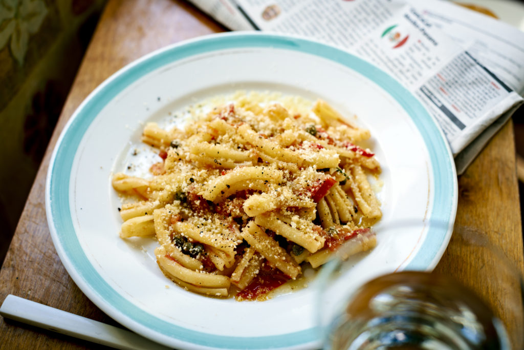 Recept från Zeta: Pasta Crostini med tomat och kapris