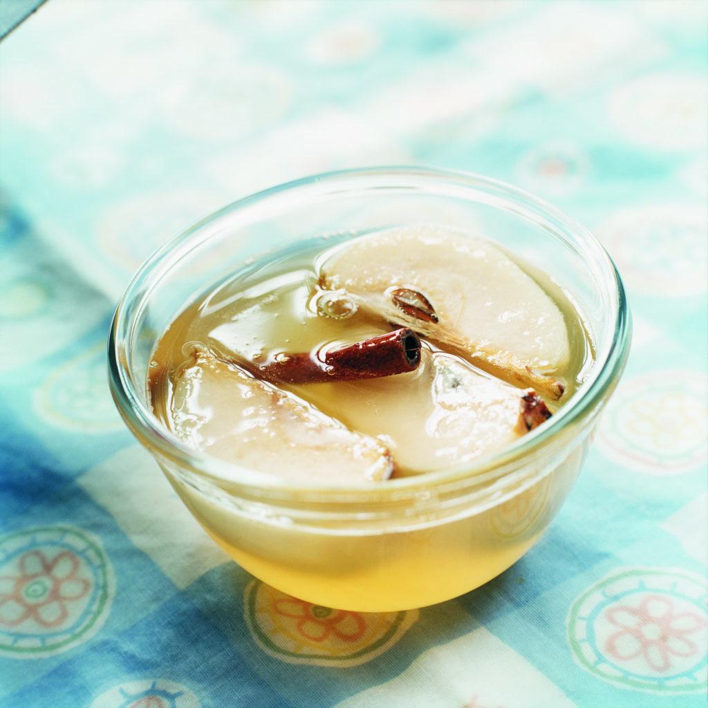 Recept från Zeta: Päron i äppelmarinad