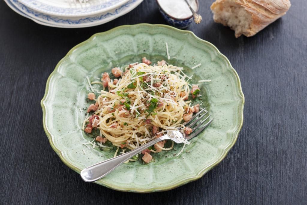 Recept från Zeta: Spaghettini Carbonara