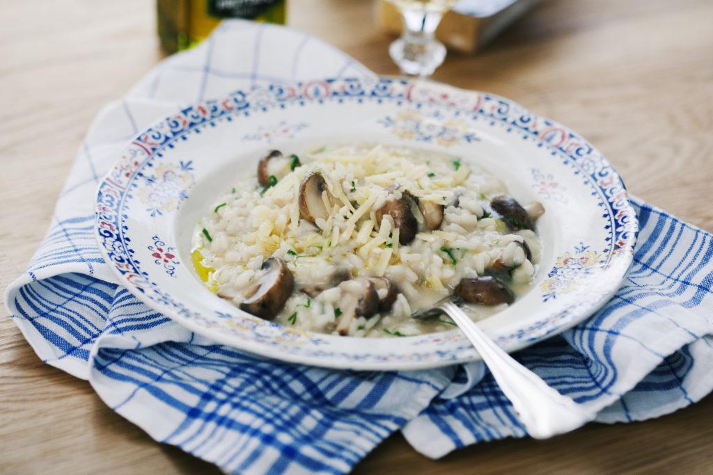 Recept från Zeta. Svamprisotto