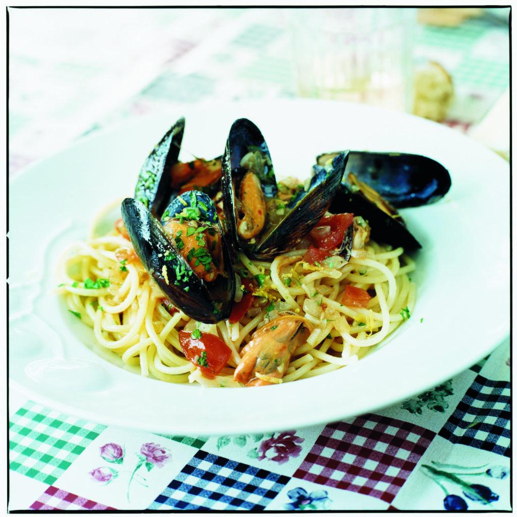Recept från Zeta: Spaghetti con le cozze
