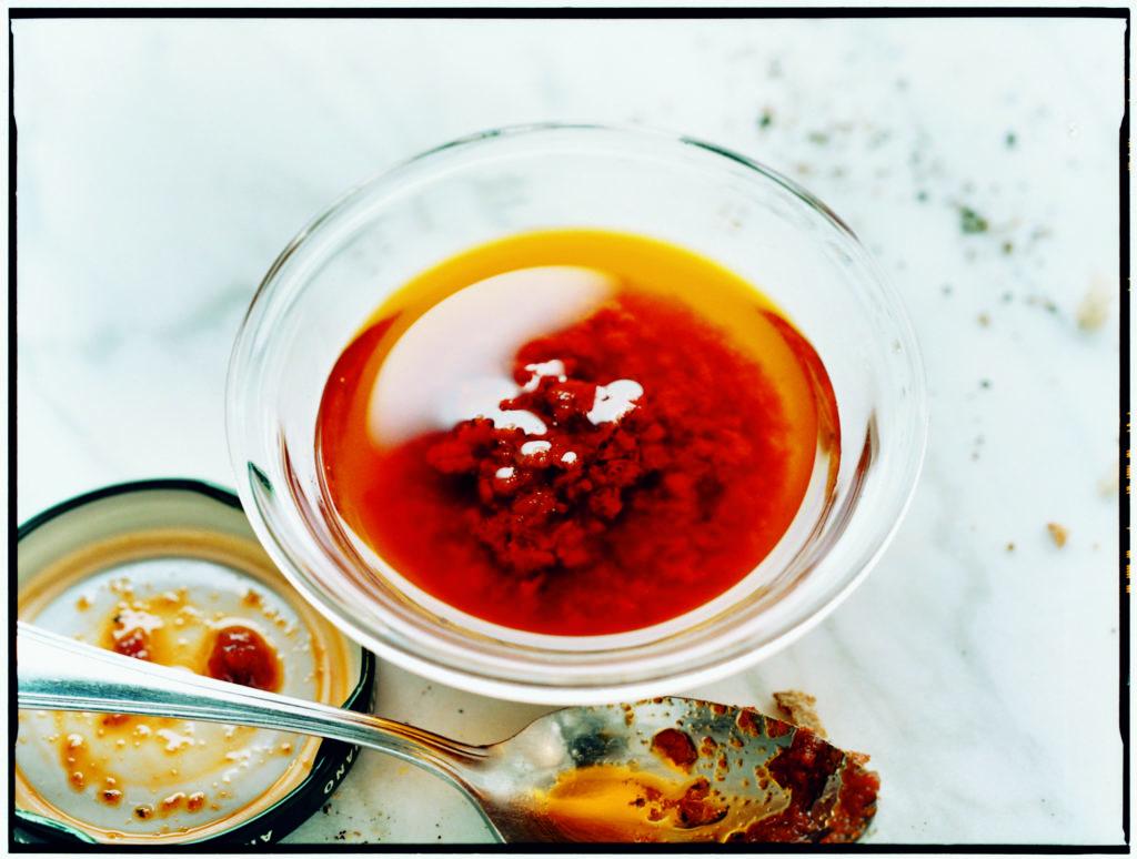 Recept från Zeta: Vinägrett med soltorkad tomatcreme