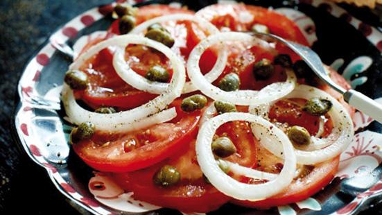 Recept från Zeta: Tomat- och kaprissallad