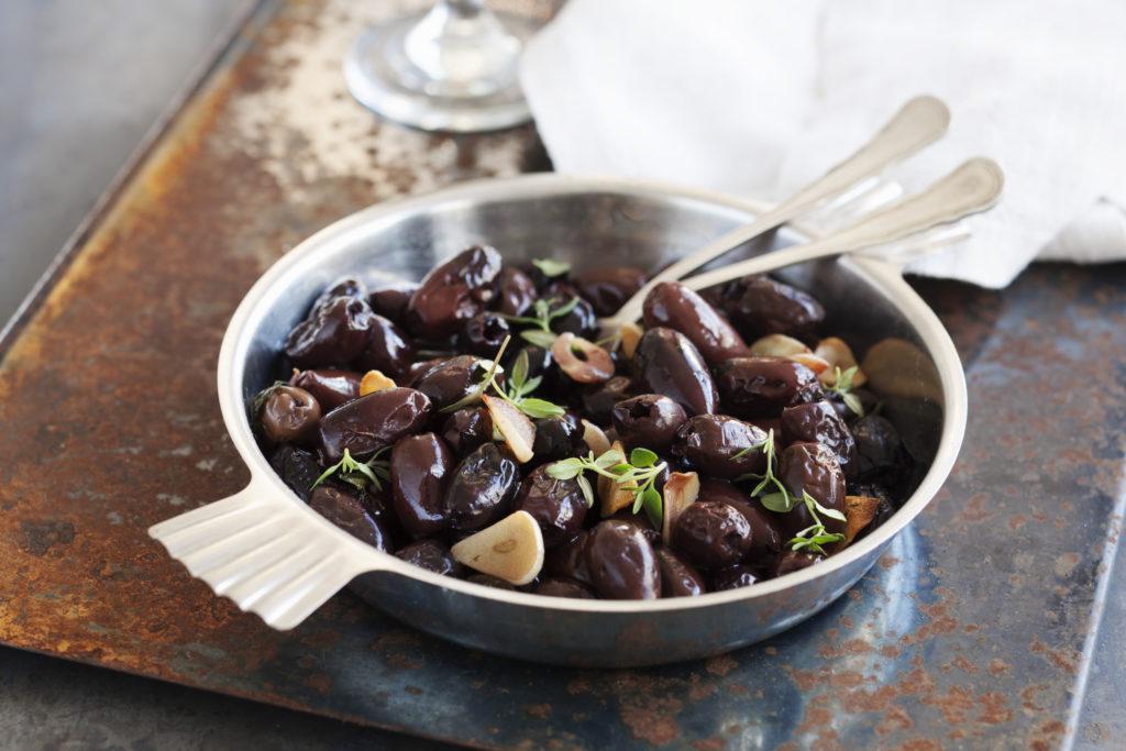 Recept från Zeta. Ugnsbakade oliver