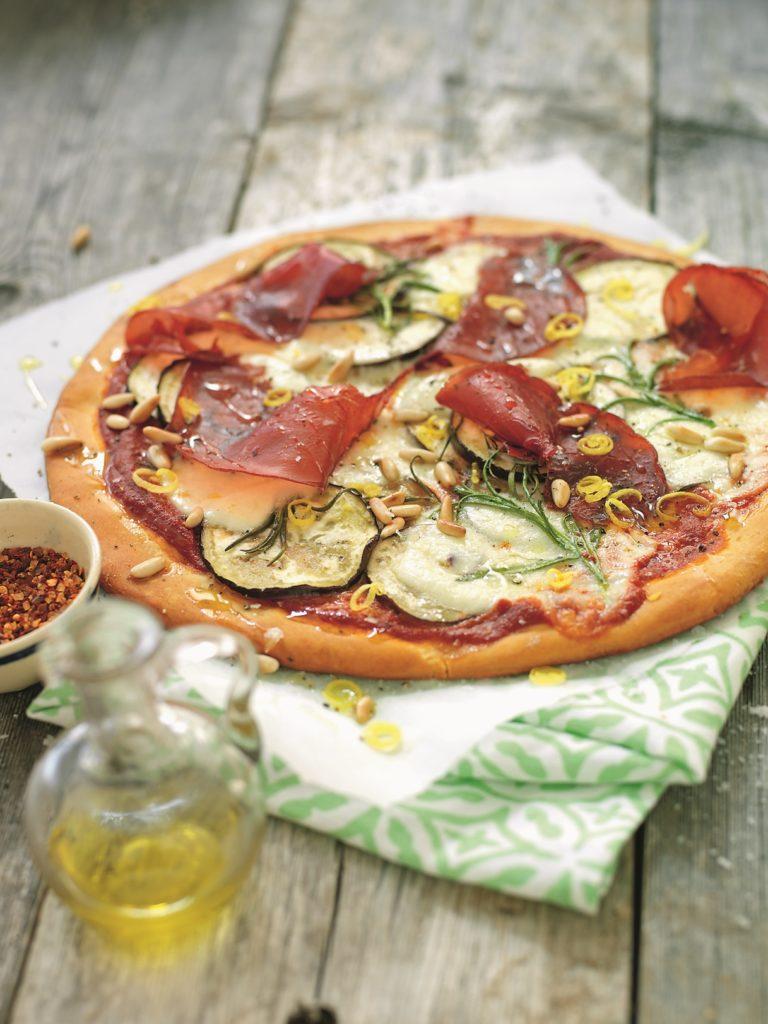 Recept från zeta.nu. Pizza Bresaola