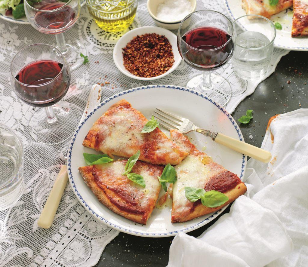Recept från Zeta. Pizza Margarita