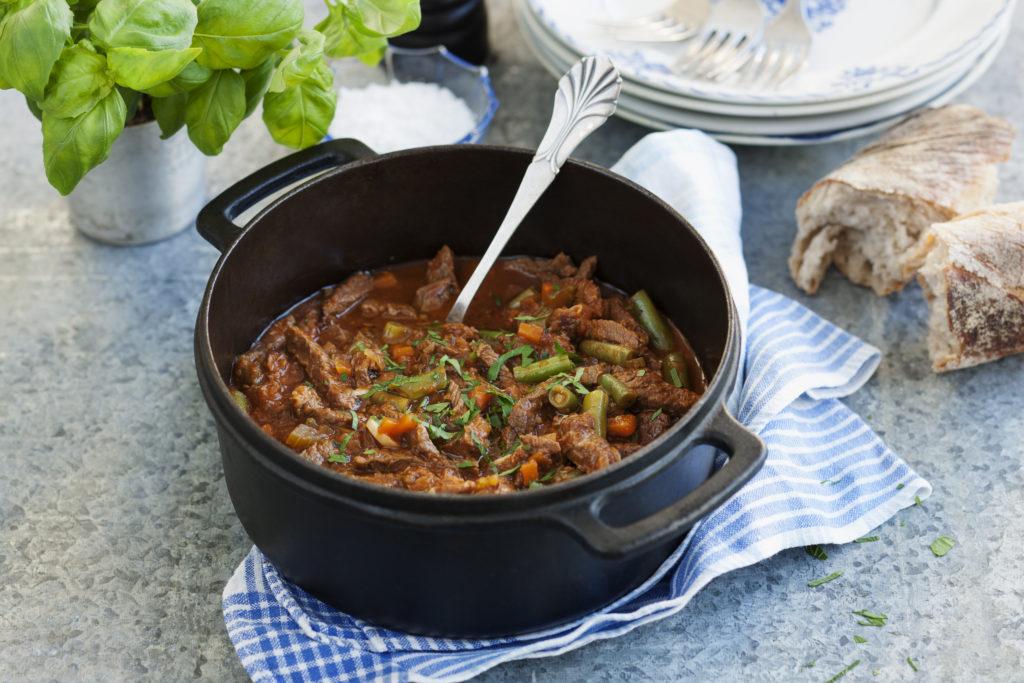 Recept från Zeta. Spezzatino med nötkött.