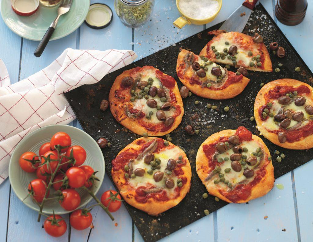 Recept från Zeta. Pizza Napoletana
