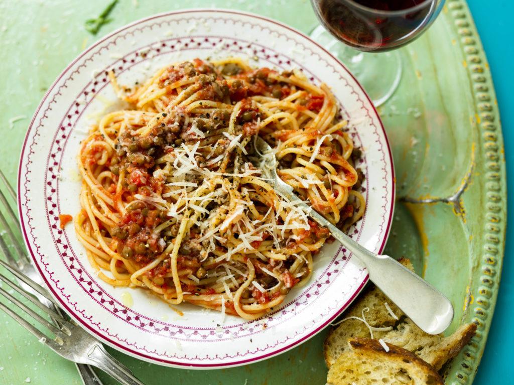 Rececpt från Zeta. Pasta arrabiata