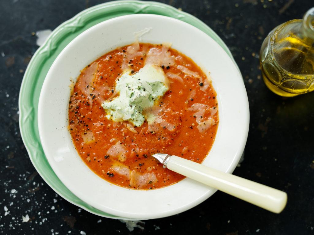 Recept från Zeta. Tomatsoppa