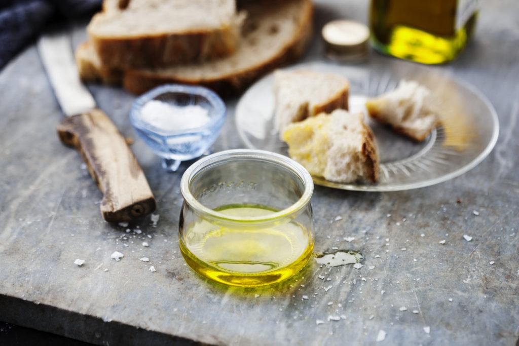 Recept från Zeta. Bröd med olivolja
