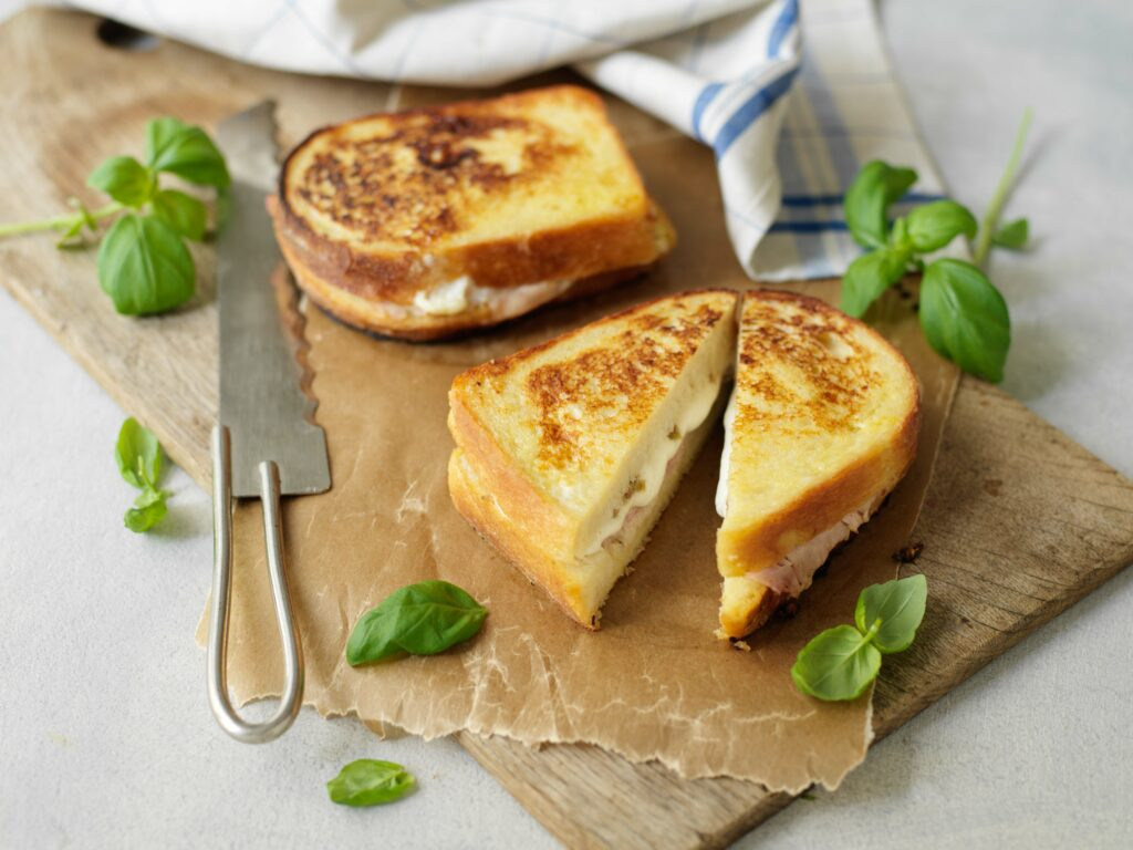 Recept från Zeta.nu Smörgåsar med parmesan och bönröra
