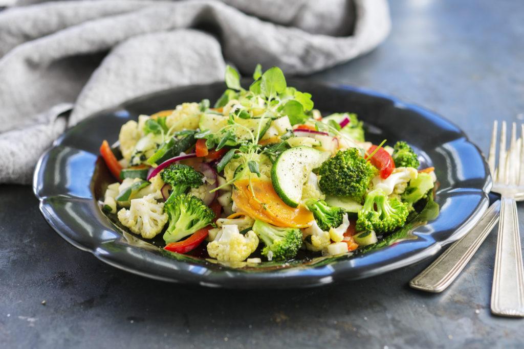 varma grönsaker