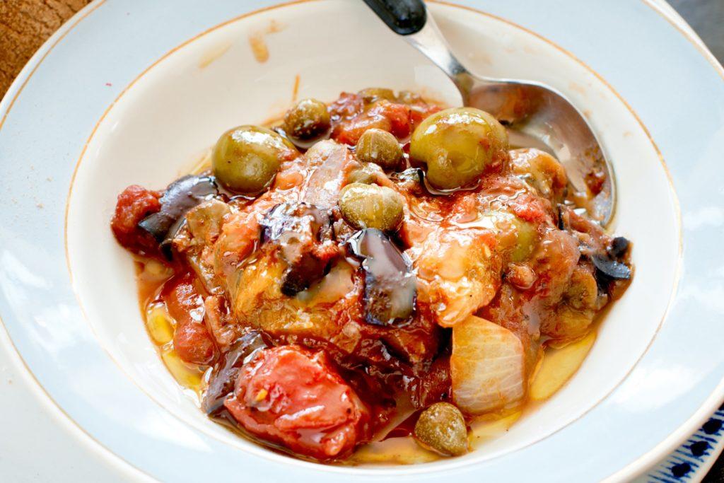 Recept från Zeta. Caponata_st