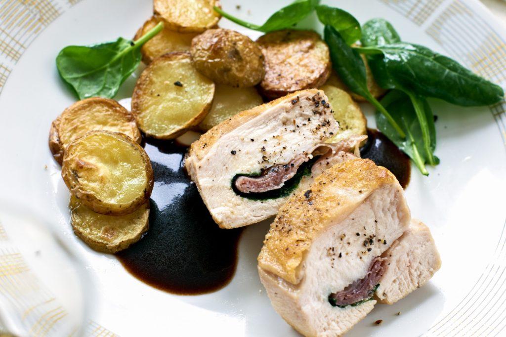 Recept från Zeta. Italiensk_kyckling_rodvinssky