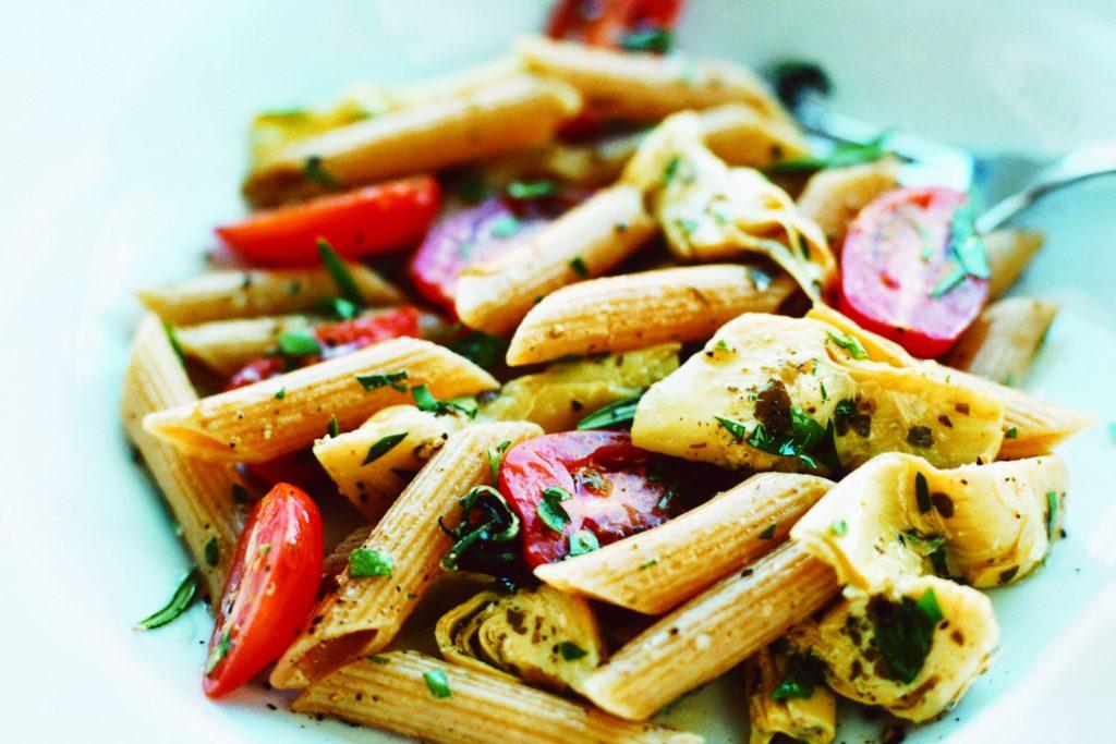 Recept från Zeta. Pasta_med_kronartskockor