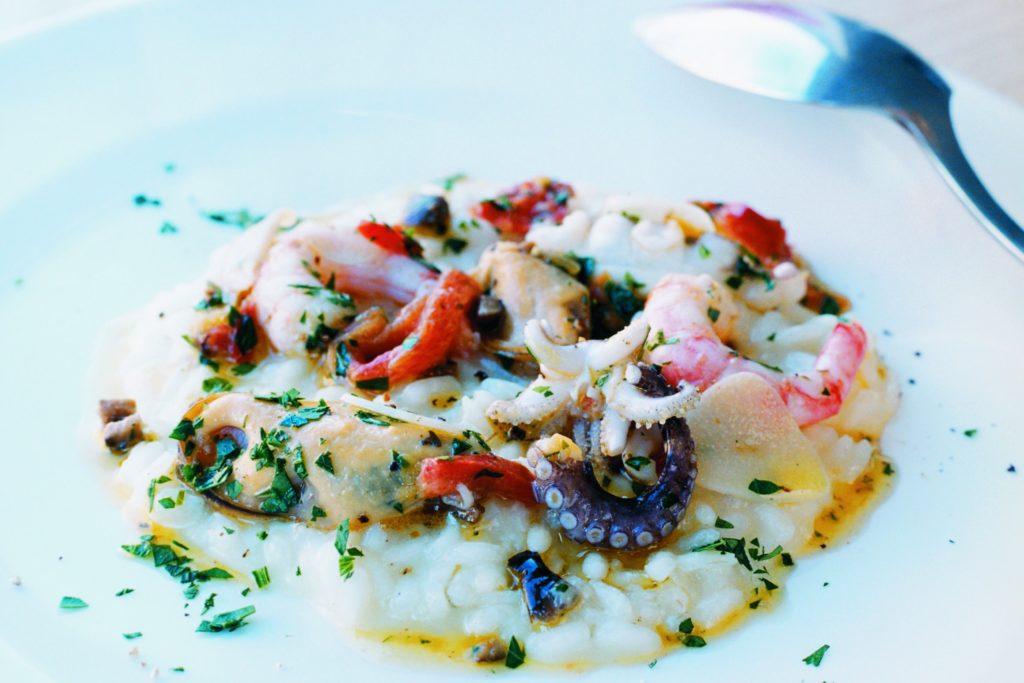 Recept från Zeta. Risotto_frutti_di_mare