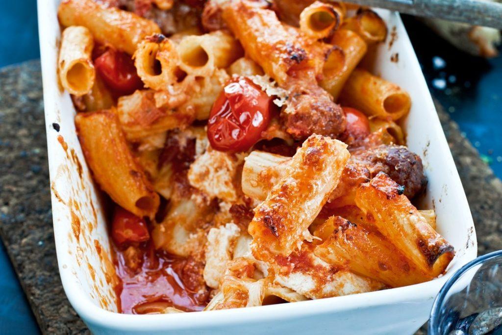 Recept från Zeta. Tortiglioni_i_ugnen