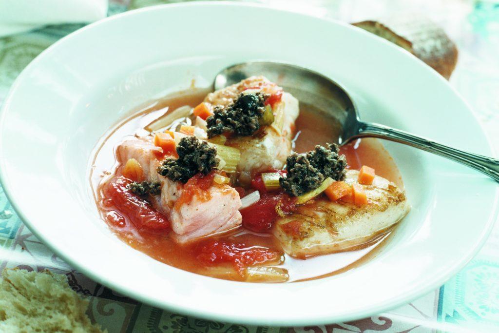 Recept från Zeta. fisksoppa