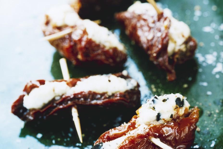 Recept från Zeta. fyllda-tomater-med-feta-och-oliver