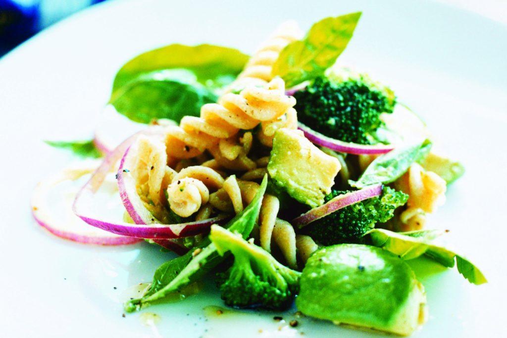 Recept från Zeta. Pasta med broccoli och avocado