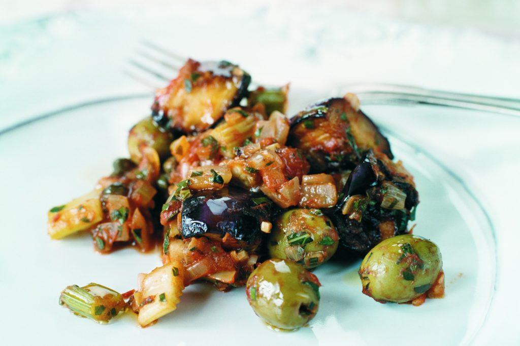 Recept från Zeta: Caponata di melanzane