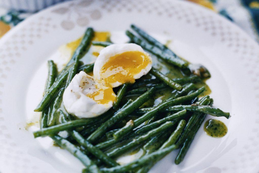 Recept från Zeta: Haricots Verts med sardelldressing