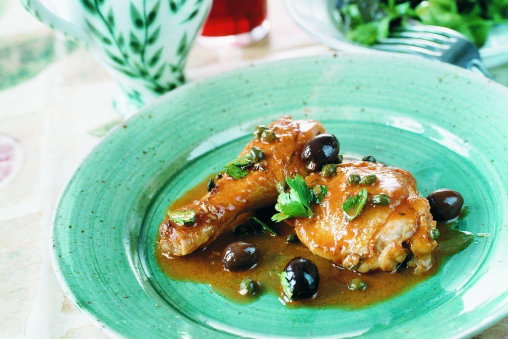 Recept från Zeta: Kyckling med kapris och oliver