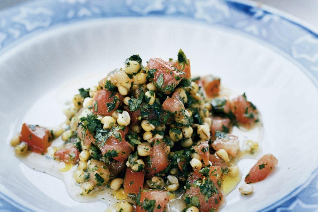 Recept från Zeta: Matvete med tomat, citron och örter